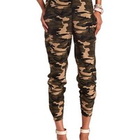 Camo Print Soft Pant: Charlotte Russe