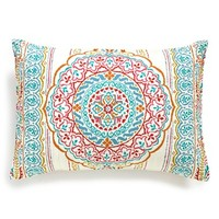 Levtex 'Florence' Cotton Pillow Sham, Size Standard - Blue