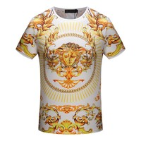 Versace Fashion Casual Shirt Top Tee-61