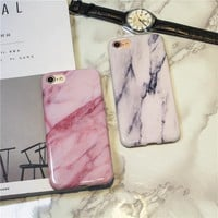 Creative marble iphone7/iphone6 smooth mobile shell  [11753294799]