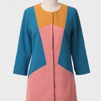 Welcome To The Sixties Coat By Champagne