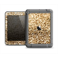 The Gold Glimmer V2 Apple iPad Mini LifeProof Fre Case Skin Set