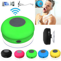 Portable Subwoofer Waterproof Shower Wireless Bluetooth Speaker Car Handsfree Receive Call Music Suction Phone Mic For iPhone = 1705496708