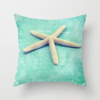starfish Throw Pillow by Sylvia Cook Photography   Society6