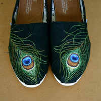 Peacock Tom - I supply the Tom. Contact me if you want a Van or other shoe type.