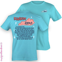 Simply Southern Funny Kentucky Chevron State Sweet Girlie Bright T Shirt