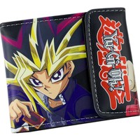 Yu-Gi-Oh Leather wallets Yugi Muto Purse man & women wallet