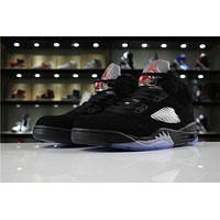 Air Jordan 5 Retro Og Metallic Black 845035-003