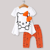 Girls Hello Kitty Outfit
