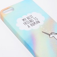ASOS My Best Friend is a Human iPhone 5 Case