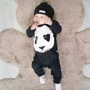Panda Baby Rompers - 2017 new fashion