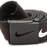 Nike Mens Tech Essential Belt, Black, One Size