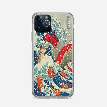 The Great Wave Of Kanto Pokemon iPhone 12 Pro Case