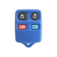 1999-2008 Blue Ford Mustang Keyless Entry Remote Key Fob w/ Free DIY Programming Instructions & WWR Guide
