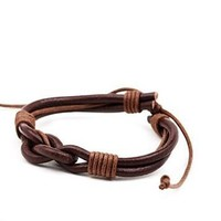 Great Deal Stylish Gift Shiny Awesome New Arrival Hot Sale Leather Accessory Men Handcrafts Bracelet [6526712835]