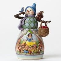 Hi Ho Holidays - Snowman and Snow White - Disney Showcase Collection