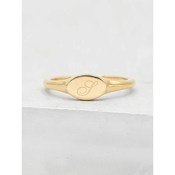 Signet Ring - Gold