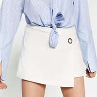 CROSSOVER CULOTTES - SHORTS-WOMAN | ZARA United States
