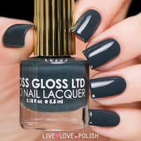 Floss Gloss Faded Nail Polish