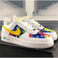 LV / Nike Air Force 1 Low  Low top casual sports shoes