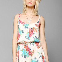 Lucca Couture Silky Tulip-Leg Romper - Urban Outfitters