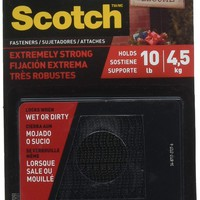 SCOTCH Fasteners Extremely Strong Holds 10lb, 4.5Kg