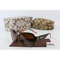 Coach Sunglasses Women Fashion Sunglasses Casual Popular Summer Sun Shades Eyeglasses -1