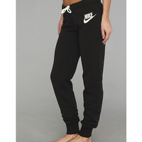 Nike Rally Tight Pant Black/Heather/Sail - Zappos.com Free Shipping BOTH Ways