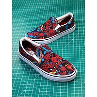2018 Marvel X Vans Spider Slip On Sneakers