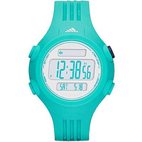 Adidas Performance Questra Green Digital Polyurethane Watch - Green