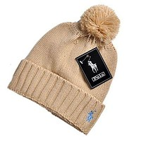 Polo Hip hop Women Men Beanies Winter Knit Hat Cap