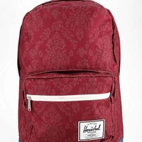 Herschel Supply Co. Pop Quiz Damask Backpack- Red Multi One
