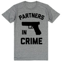 Partners in Crime - Best Friend Shirts - BFF 2 of 2