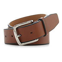 Cole Haan Vegetable-Tanned Leather Belt - British Tan