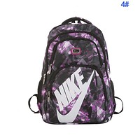 NIKE Newest Women Men Casual Travel Bag Backpack Shoulder Bag School Backpack 4#