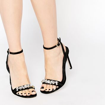 ASOS HIGH IN THE SKY Heeled Sandals