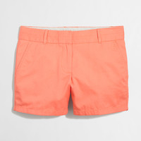 "Factory 4"" chino short : solid 