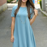 Anything Goes Blue Dress