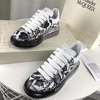 Alexander Mcqueen Graffiti Oversized Sneakers With Air Cushion Sole Reference #23