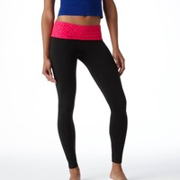 Aerie Slim Gym Lace Skinny Pant | Aerie for American Eagle