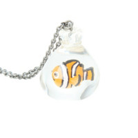Disney Finding Nemo Fish Bag Necklace