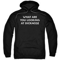 """Teen Wolf """"What Are You Looking At Dicknose"""" Hoodie - Adult"""