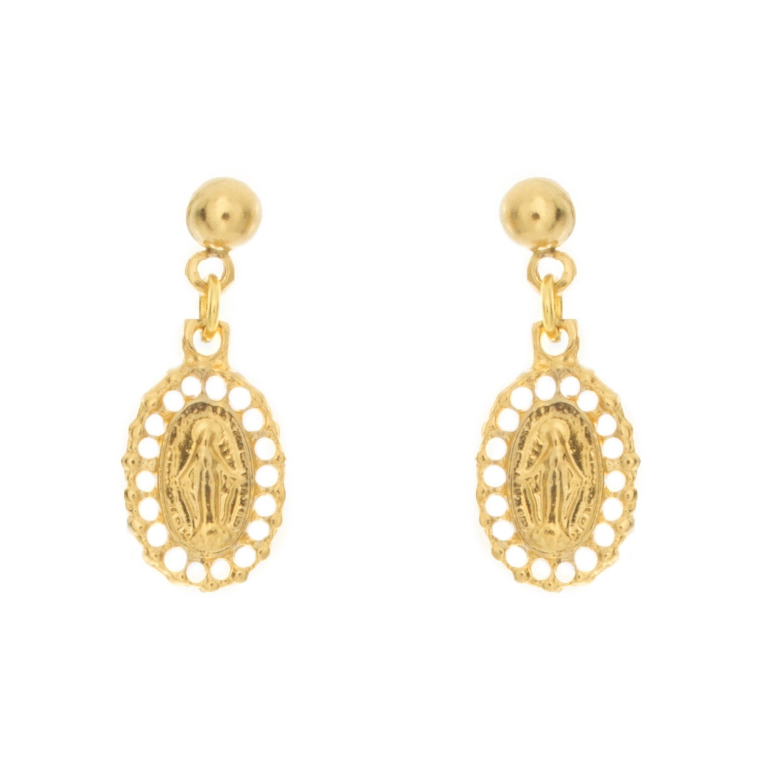 Image of Guadalupe Charm Earring