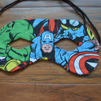 Customize Your Own Super Hero Inspired Mask