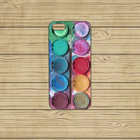 iphone 5S case,iphone 5C case,iphone 5S cases,cute iphone 5S case,cool iphone 5S case,iphone 5C case,5S case--water color paint,in plastic.