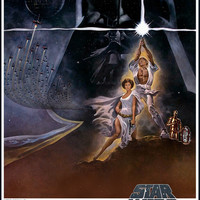 Star Wars Episode IV A New Hope Poster 11x17
