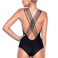Strappy-back One-Piece - PINK - Victoria's Secret Swimwear