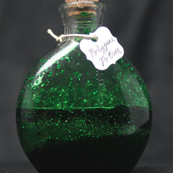 Le Harry Potter Inspired Polyjuice Potion in Glass Bottle