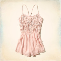 Salt Creek Embellished Romper