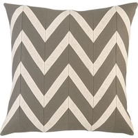 "Chevron Blush 18"" Pillow in Decorative Pillows 